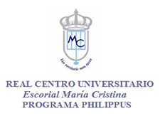 REAL CENTRO UNIVERSITARIO Escorial María Cristina PROGRAMA PHILIPPUS SPAIN